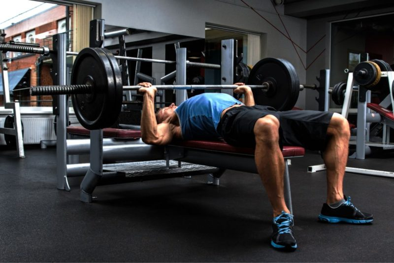 nba combine bench press